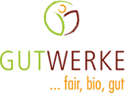 Gutwerke Logo FairGoods Kissen