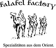 Logo Falafel Factory Veggienale vegan