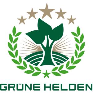 Logo grüne Helden Förderpreis
